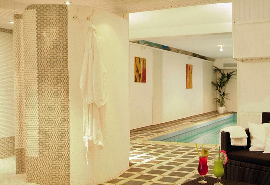 Hotel Friesengeist in Wiesmoor in Ostfriesland Poolbereich