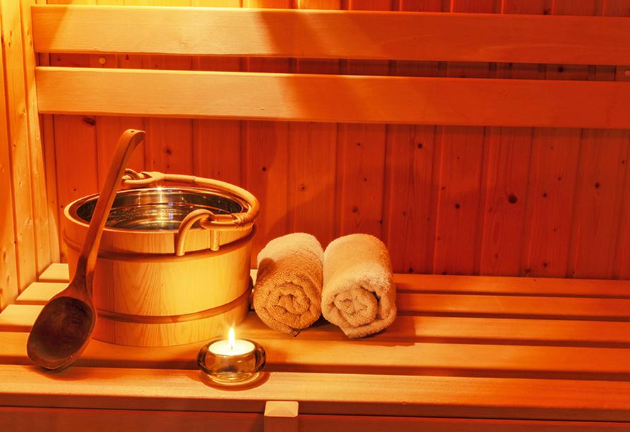 Hotel Friesengeist in Wiesmoor in Ostfriesland Sauna