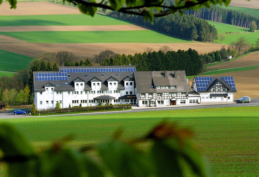Landgasthof Wüllner in Winterberg-Altenfeld im Sauerland Außenansicht