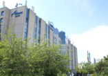 Atlanta Hotel International Leipzig, Außenansicht