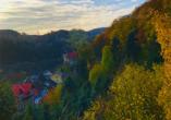 Waldhotel Altenbrak in Thale, Ausblick Altenbrak