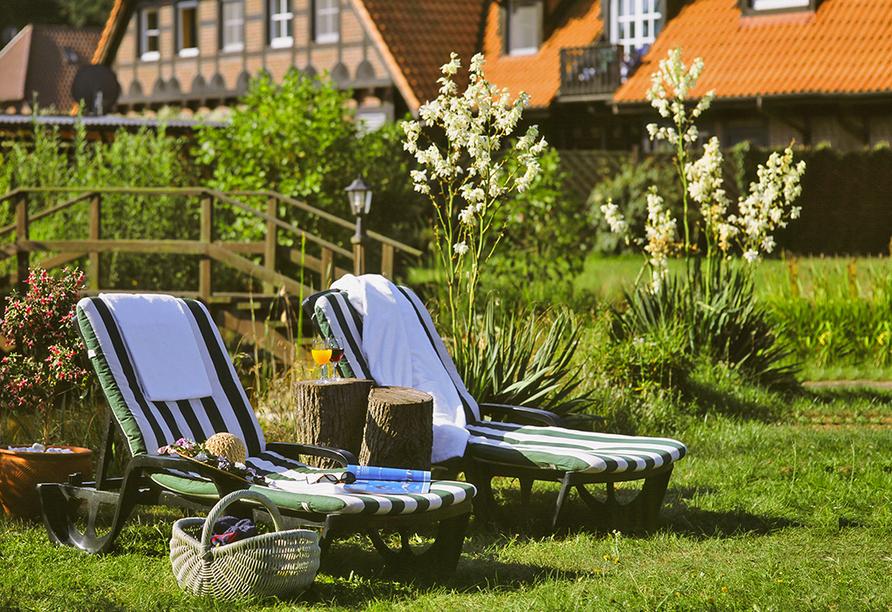 Hotel Seewisch, Garten
