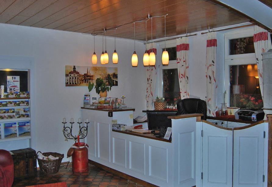 Hotel Neetzer Hof in Neetze in der Lüneburger Heide Empfang