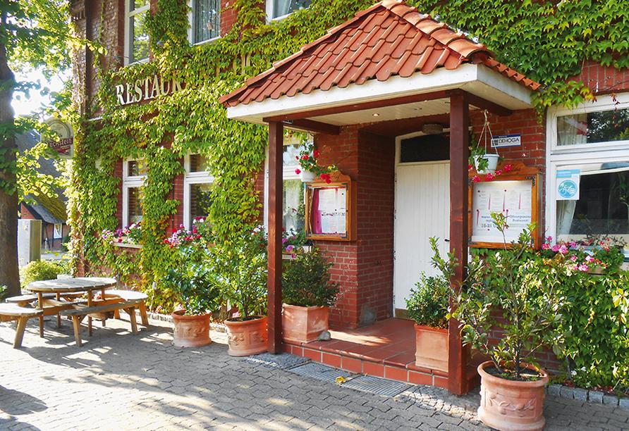 Hotel Neetzer Hof in Neetze in der Lüneburger Heide Eingangsbereich