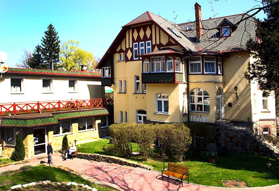 Hotel Kurhaus Kaja in Bad Flinsberg in Niederschlesien Außenansicht