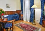 Hotel Salvator in Karlsbad, Einzelzimmer