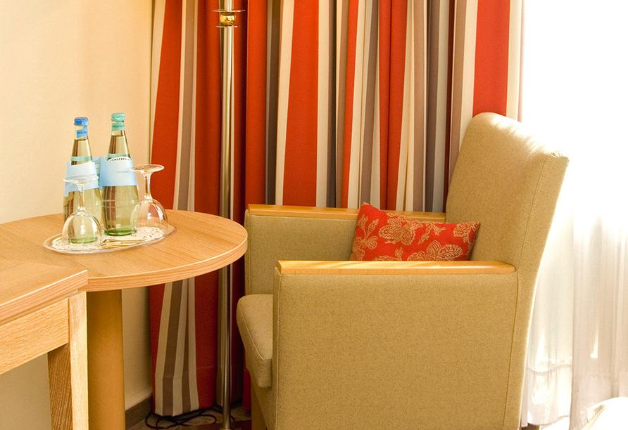 Parkhotel Hohenfeld, Zimmerbeispiel