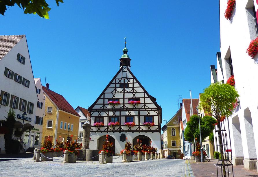 Hotel Gasthof Munding in Krumbach Mittelschwaben, Ausflugsziel Krumbach