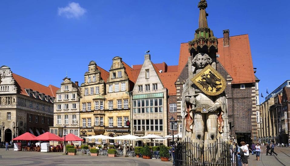 Hotel zur Riede in Delmenhorst, Roland