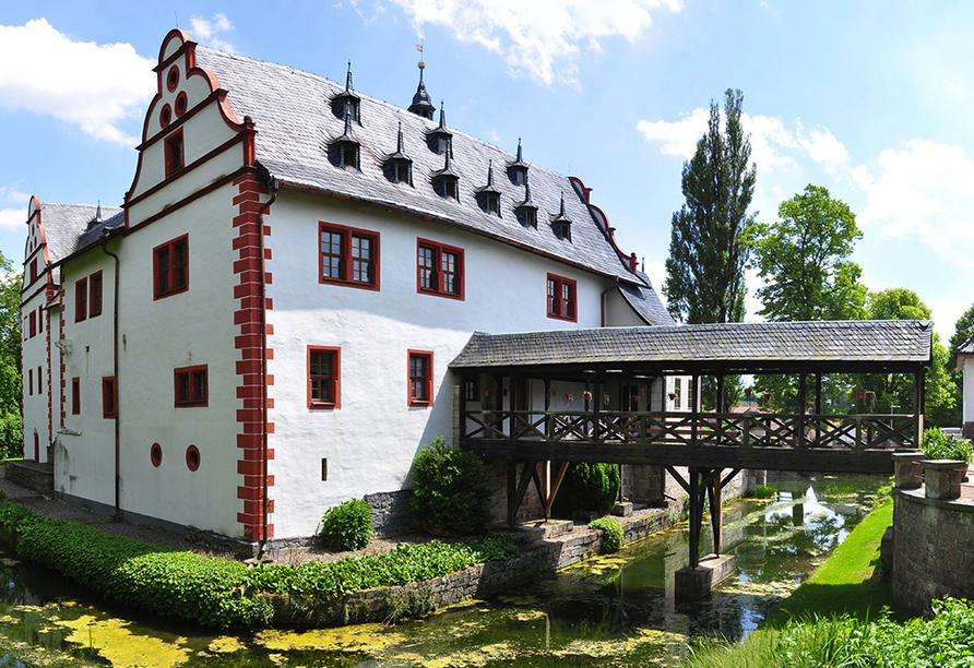 Hotel Zur Krone, Ebersdorf, Thüringen, Schloss Kochberg in Rudolstadt