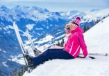 Berghotel Alpenrast in Rein in Taufers Südtirol, Ski