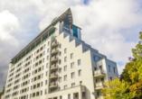Kurhotel Etna in Kolberg Ostsee Polen, Aussenansicht-2