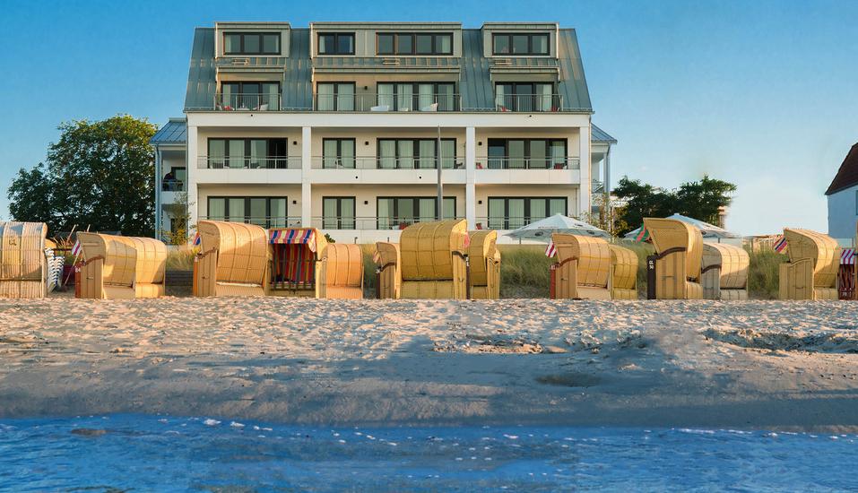 Strandhotel LUV, Außenansicht