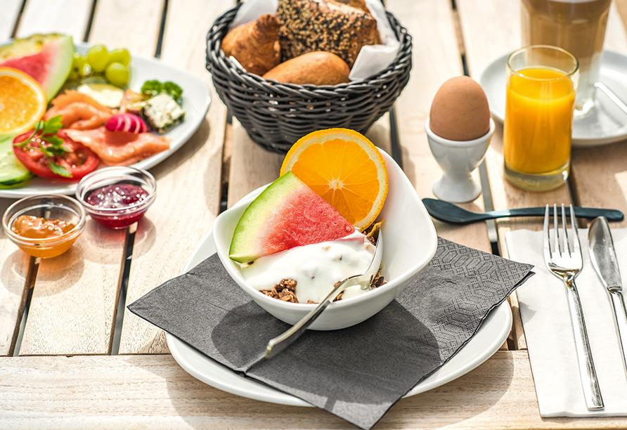 Strandhotel LUV, Frühstück