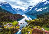 MSC Poesia, Geirangerfjord