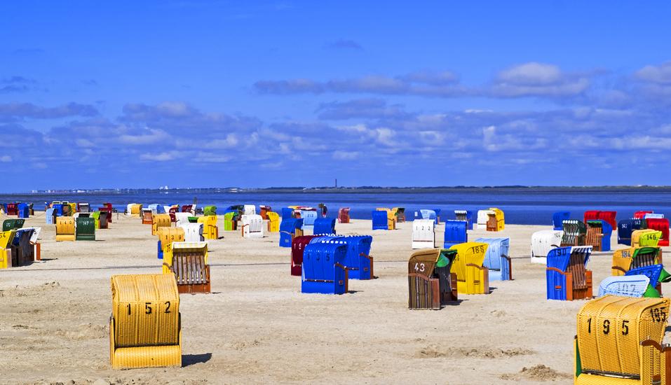 Hotel Zum Wikinger in Neßmersiel an der Nordsee, Strand