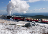 Panoramic Hotel in Bad Lauterberg, Harzer Schmalspurbahn im Winter