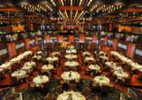 Costa Fascinosa, Hauptrestaurant