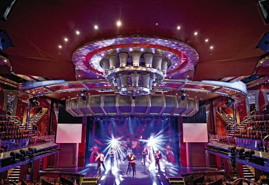 Costa Fascinosa, Theater