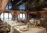 Costa Fascinosa, Restaurant