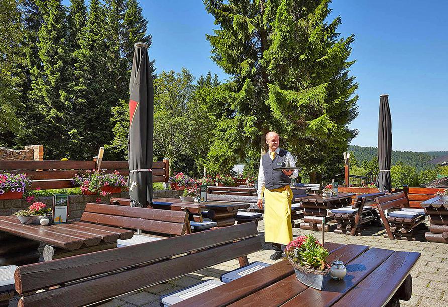 AHORN Panorama Hotel Oberhof, Biergarten