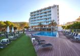 Hotel Abrat in San Antonio in Ibiza, Pool