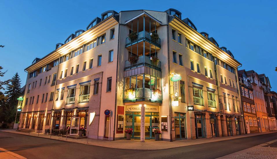 Göbel's Sophien Hotel in Eisenach in Thüringen, Außenansicht