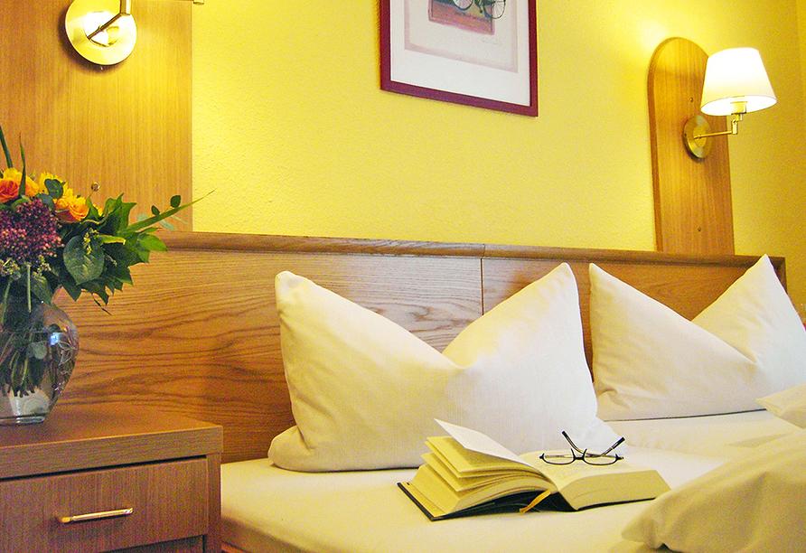 Vital & Wellness Hotel Schürger in Thurmansbang im Bayerischen Wald, Beispiel Doppelzimmer