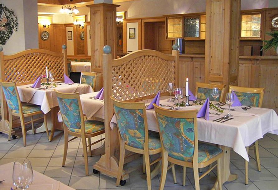 Vital & Wellness Hotel Schürger in Thurmansbang im Bayerischen Wald, Restaurant