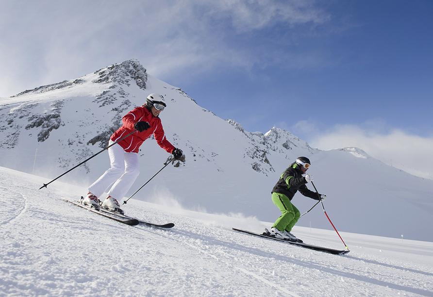 Hotel Goldene Rose in Welsberg, Ski fahren