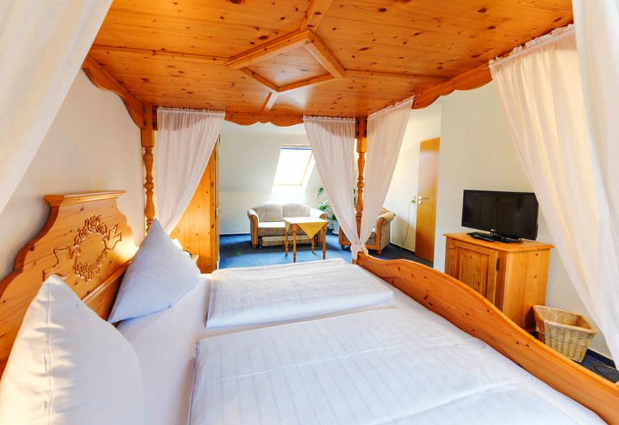 Hotel Weinheber Hornung, Zimmerbeispiel Suite