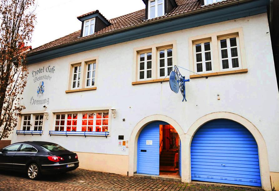 Hotel Weinheber Hornung, Außenansicht