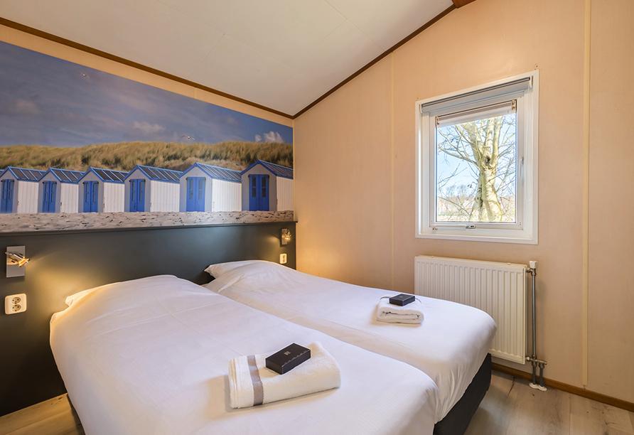 Roompot Kustpark Texel, Chalet Schlafzimmer
