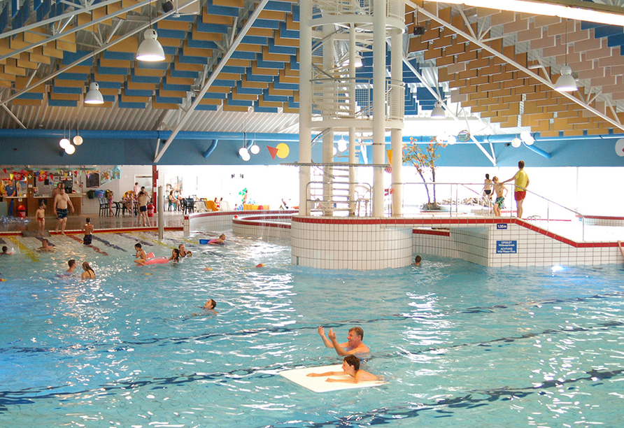Roompot Kustpark Texel, Hallenbad