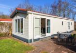 Roompot Kustpark Texel, Chalet Außenansicht