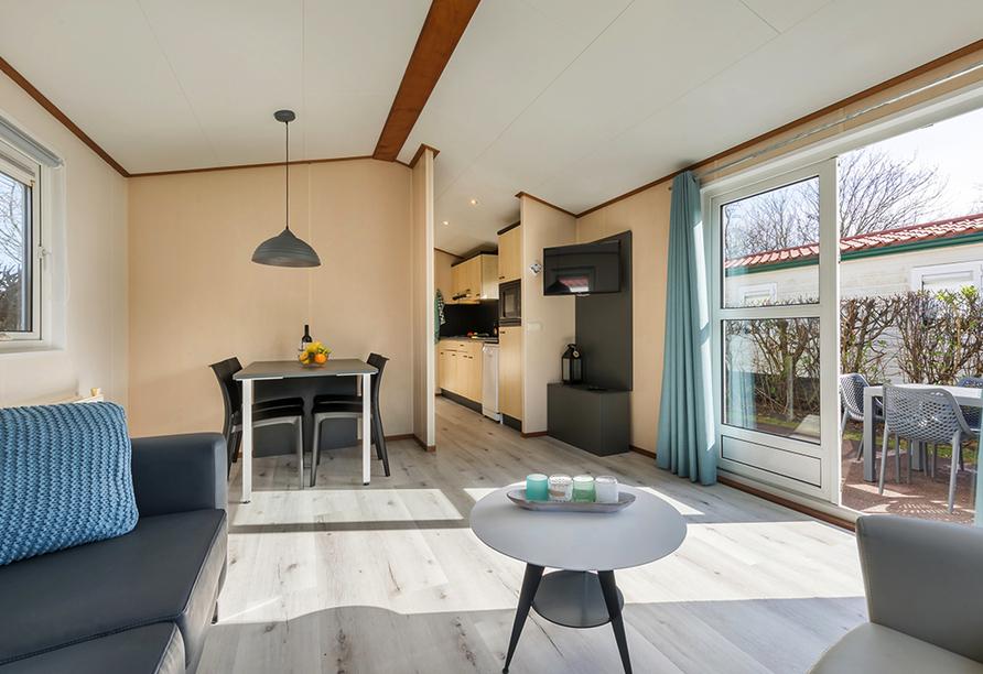 Roompot Kustpark Texel, Chalet Wohnzimmer