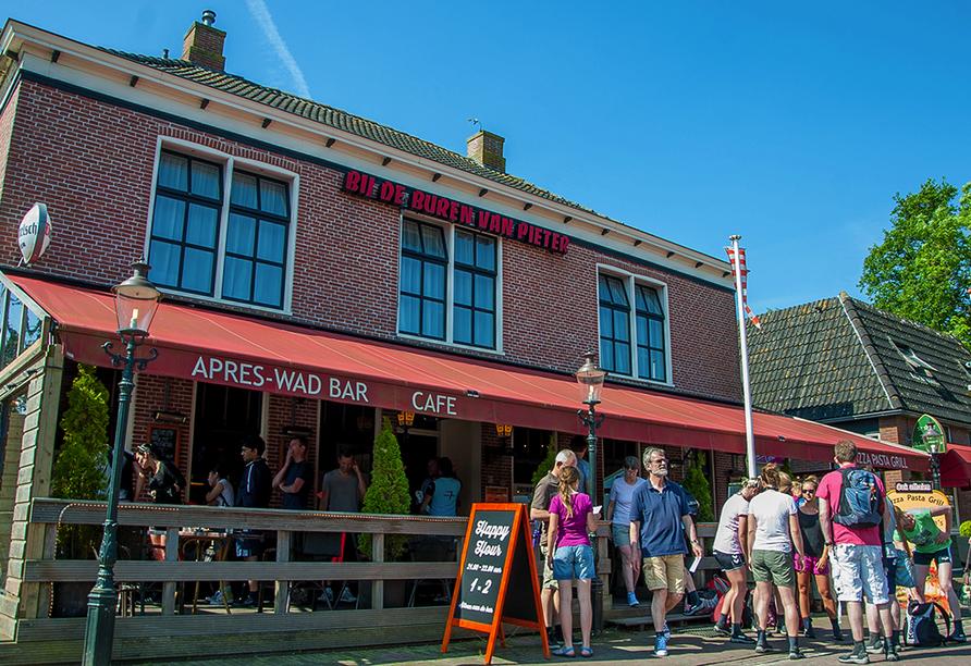 Hotel Waddenweelde in Pieterburen in den Niederlanden, Außenanscht