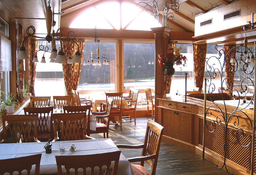 Hotel Seeblick in Kirchheim im Hessischen Bergland Restaurant