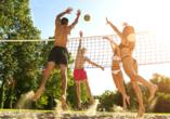 Hotel Seeblick in Kirchheim im Hessischen Bergland Volleyball