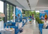 Hotel Kurhaus Bryza in Kolberger Deep an der polnischen Ostsee, Lobby 2