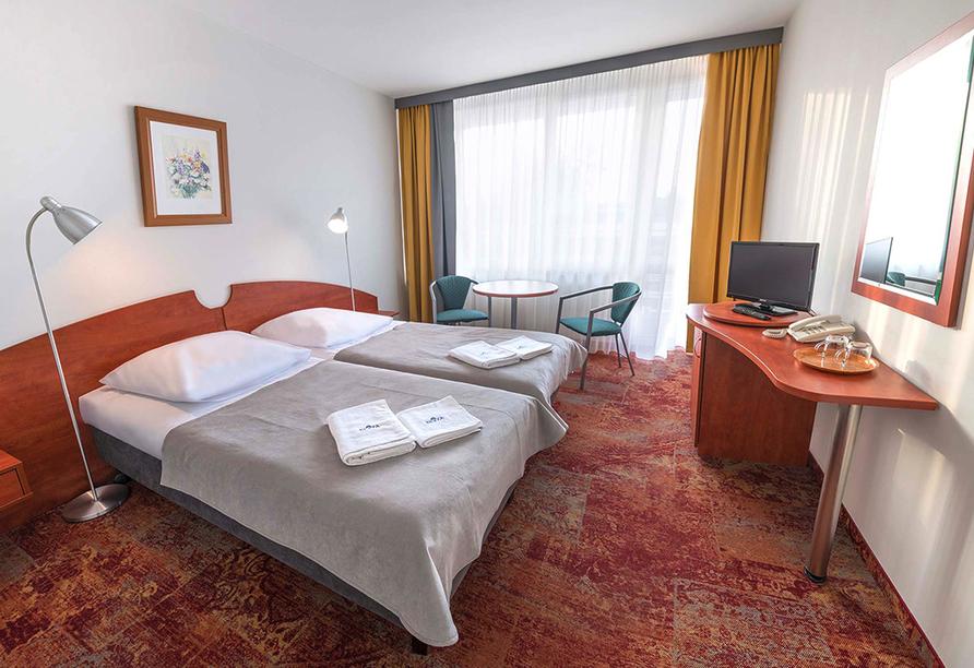 Hotel Kurhaus Bryza in Kolberger Deep an der polnischen Ostsee Zimmerbeispiel