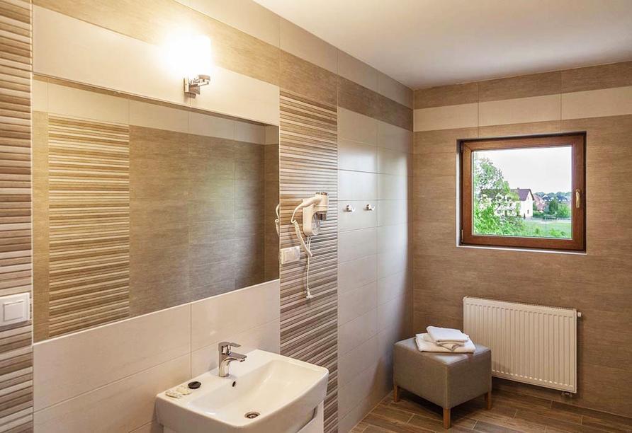 Hotel Sunset Spa in Rewal, Badezimmerbeispiel