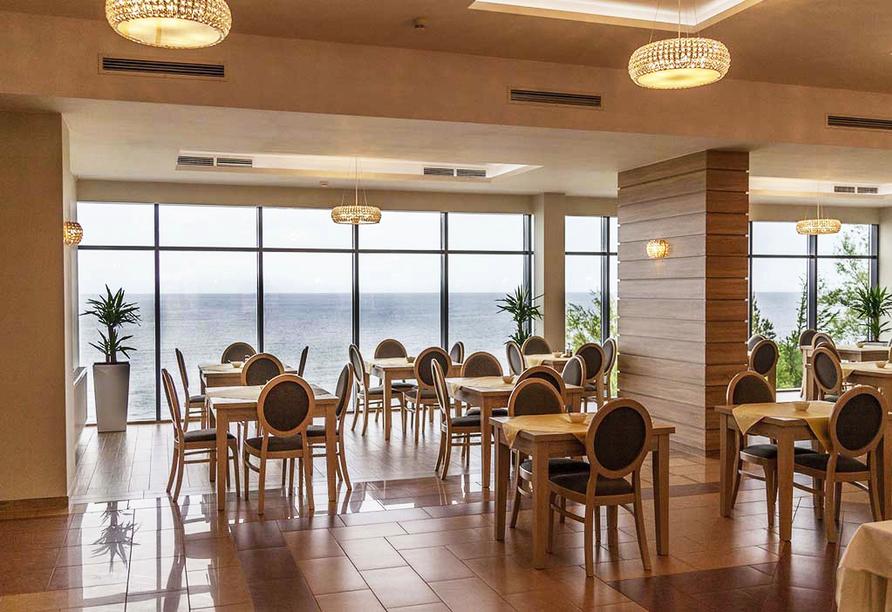 Hotel Sunset Spa in Rewal, Restaurant