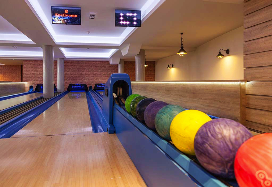 Hotel Sunset Spa in Rewal, Bowling