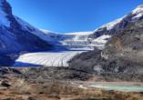 West-Kanada-Reise, Athabasca-Gletscher im Jasper Nationalpark