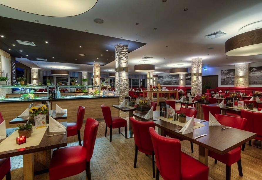 Sport- & Vital-Resort Neuer Hennings Hof in Perleberg, Buffetrestaurant