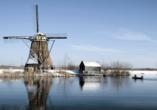 A-ROSA, Windmühlen im Winter