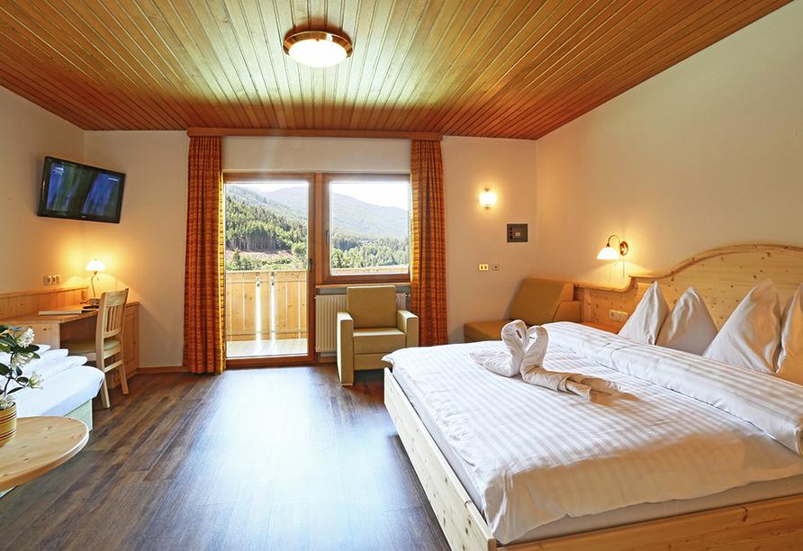 Hotel Seehof in Welsberg, Beispielzimmer