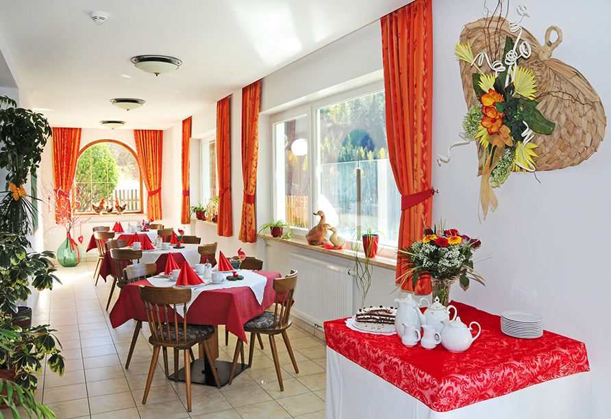 Hotel Seehof in Welsberg, Restaurant