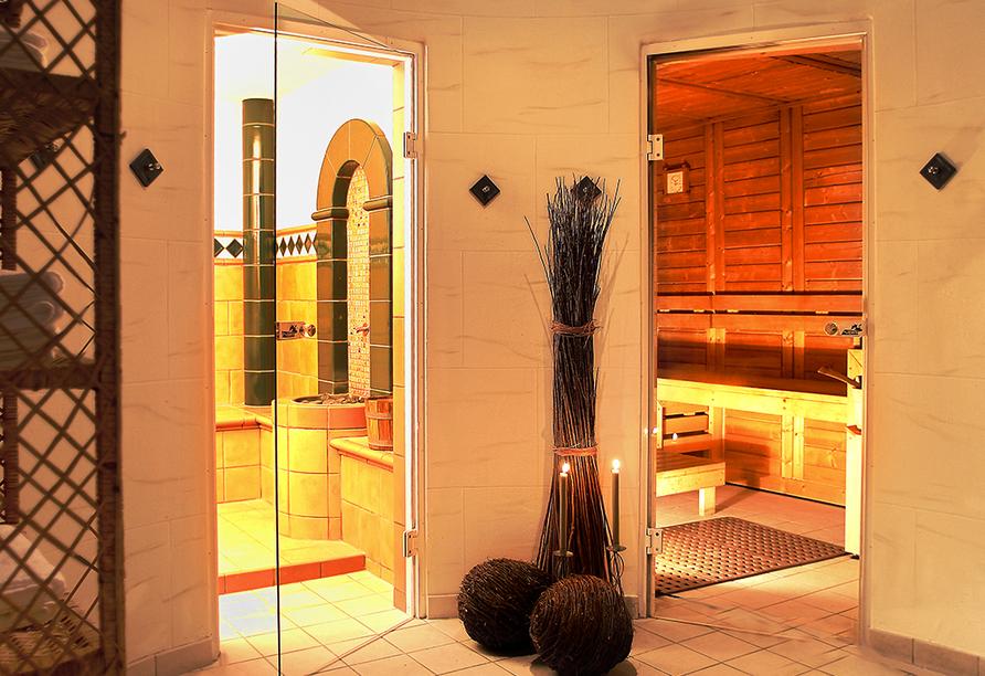Hotel Landhaus Wacker, Sauna